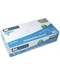 M Safe 4061 disposable vinyl handschoen