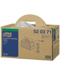 Tork Industrial Cloth Handy Box Grey werkdoek