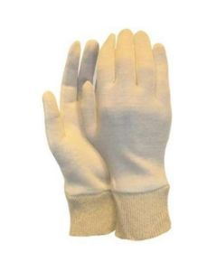 Interlock handschoen, herenmaat met manchet (325 grams)