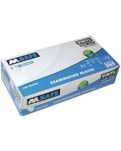 M Safe 4060 disposable vinyl handschoen